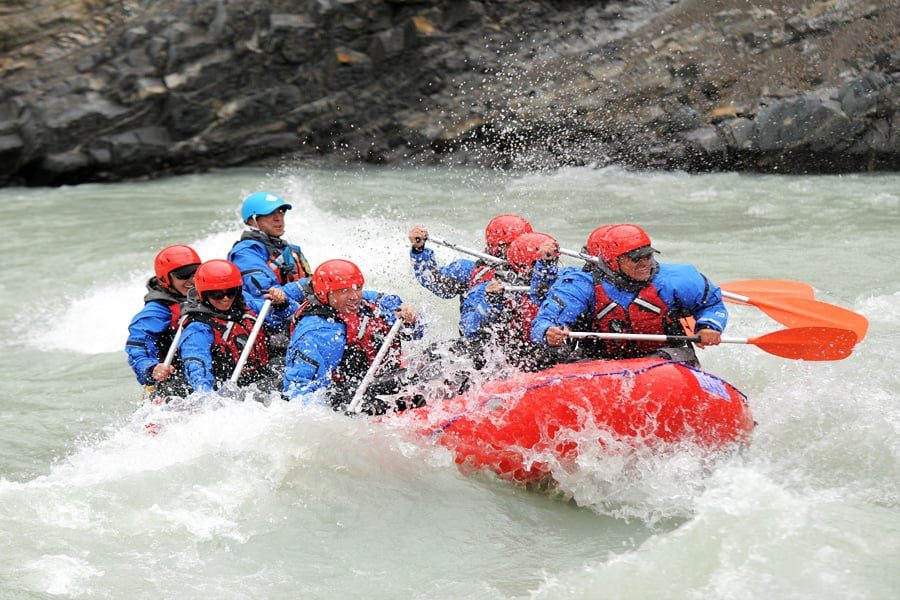 Full Day Rafting experience